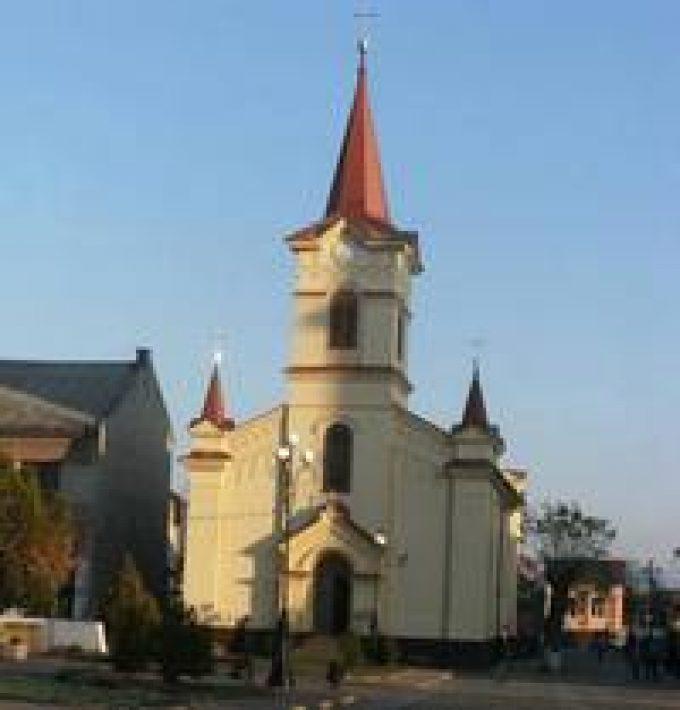 Técsői római katolikus templom